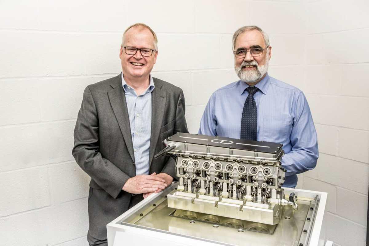 Gasoline engine with diesel efficiency: The ITV engine