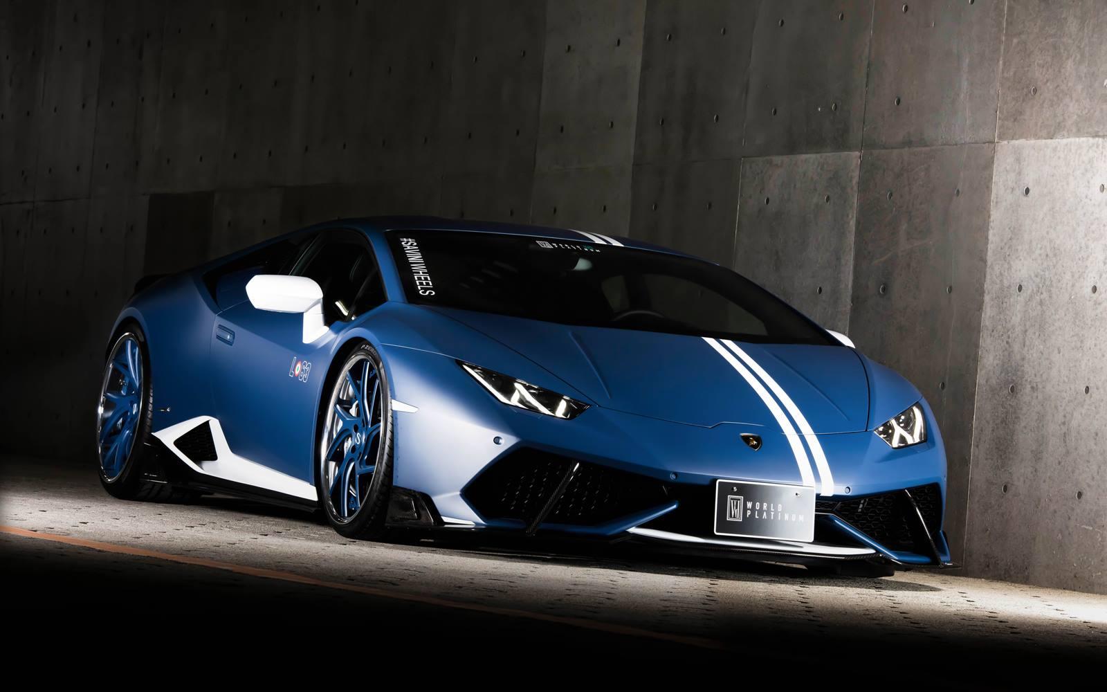 El ltimo Lamborghini Huracn de Rowen luce discreto pero