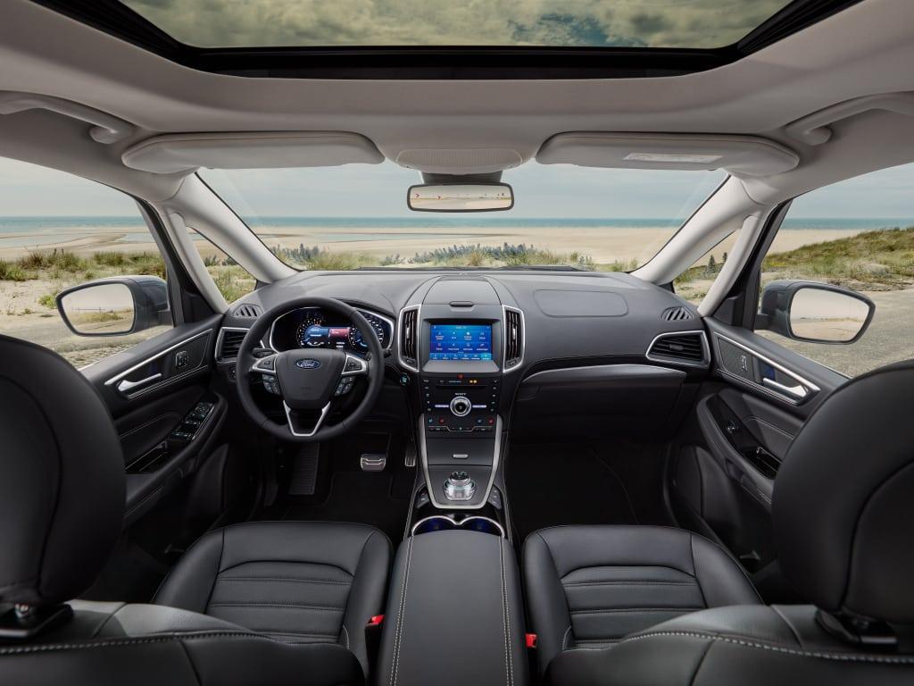 Marketing of the Ford Galaxy 2.5 Hybrid begins