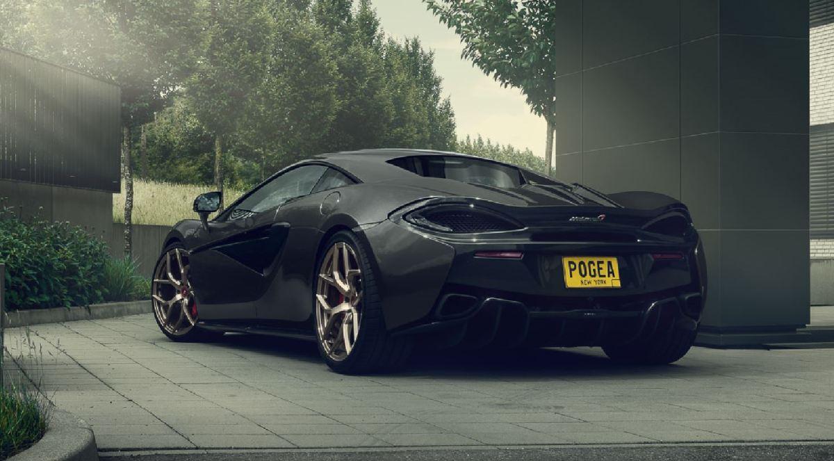 POGEA RACING shows us the McLaren 666s