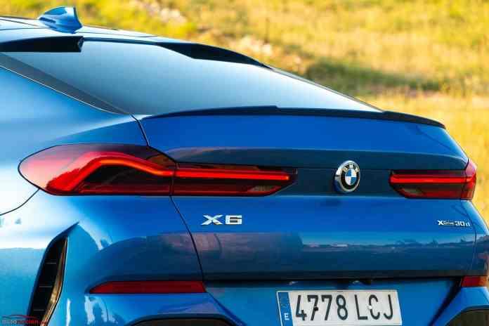 Opinión y prueba BMW X6 xDrive30d diésel 265 CV 2020