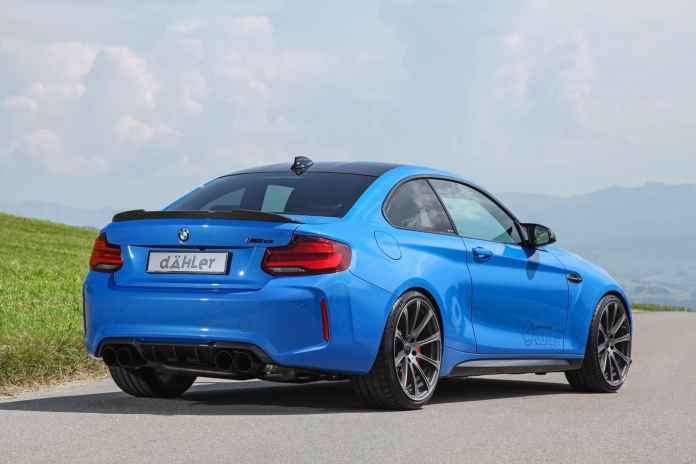 If the BMW M2 CS knows you little, you can opt for this version with an extra 100 hp