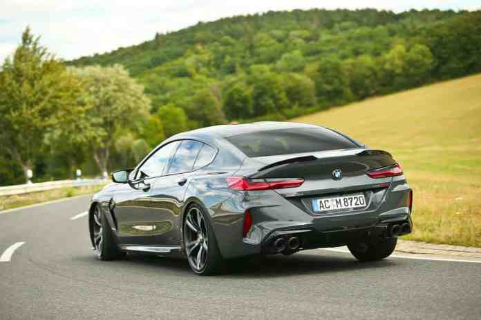 Enjoy the BMW M8 Competition with almost 100 extra hp and a more aggressive aesthetic