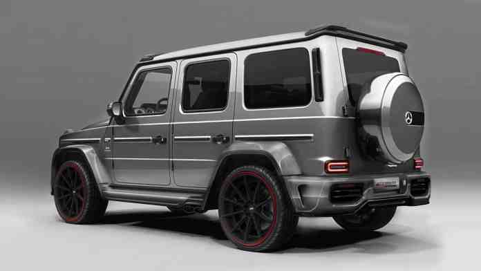 Diet rich in carbon fiber and more than 800 hp for the Mercedes-AMG G63