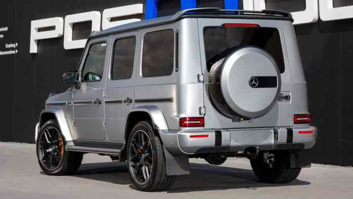 This Mercedes-AMG G63 looks discreet, but hides more than 950 hp and 1,278 Nm of torque