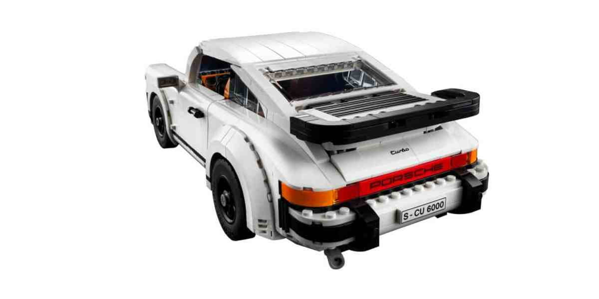 Sorry but you're going to have to buy this new LEGO Porsche 911