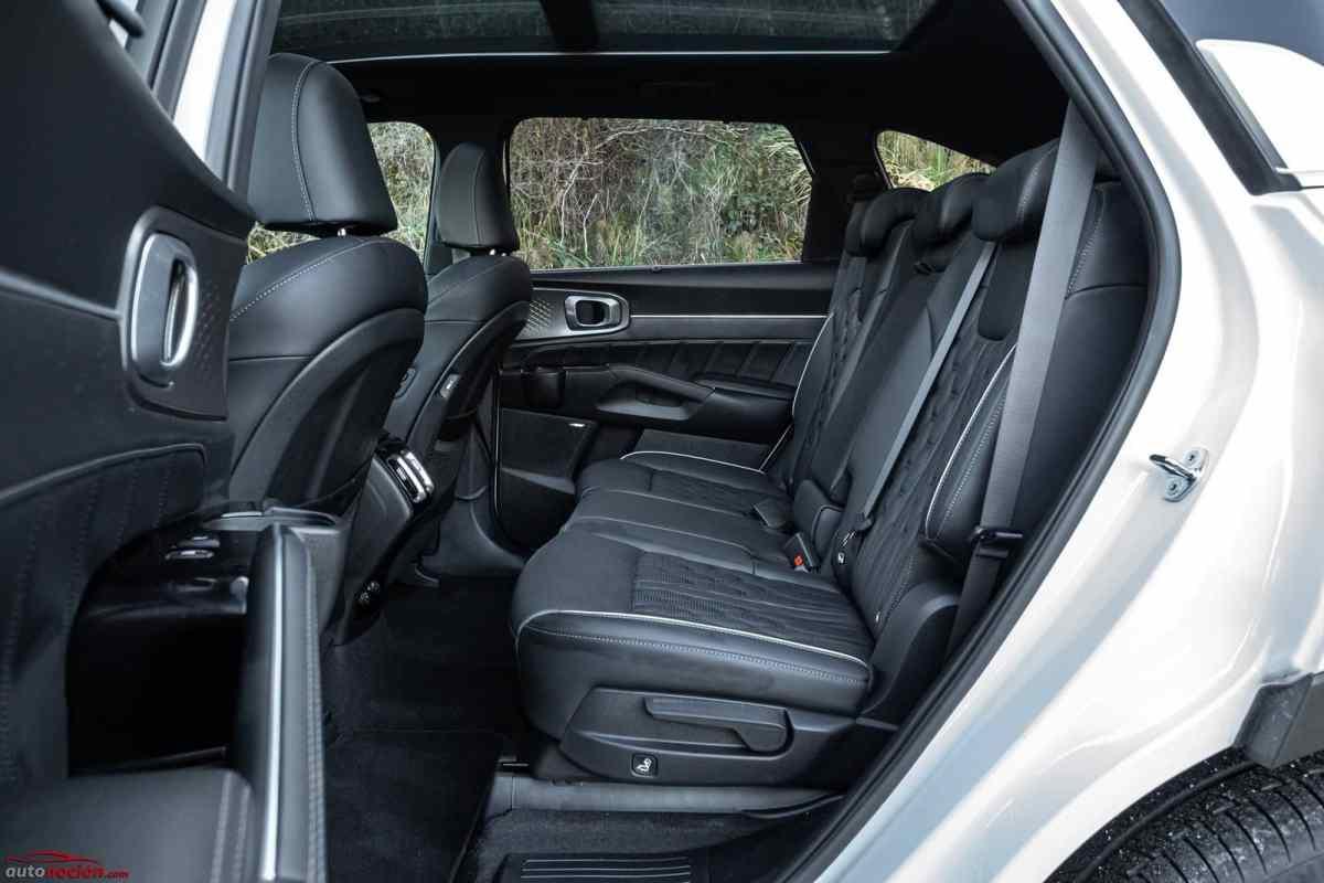 Opinión y prueba Kia Sorento diésel automático 7 plazas 2021