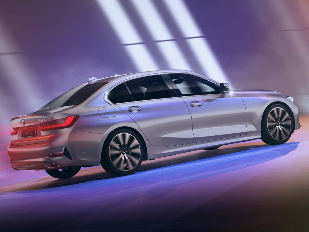 The BMW 3 Series star elongated wheelbase in India