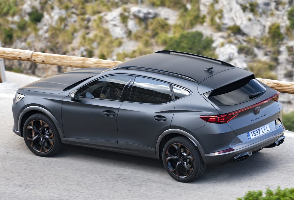 The Cupra Formentor e-Hybrid is already sold in France: Here is its price