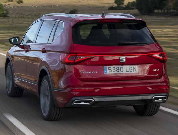 The SEAT Tarraco launches a 2.0 TSI engine with 245 hp