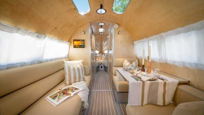 The Bowlus Terra Firma caravan offers your dog the same luxury as you