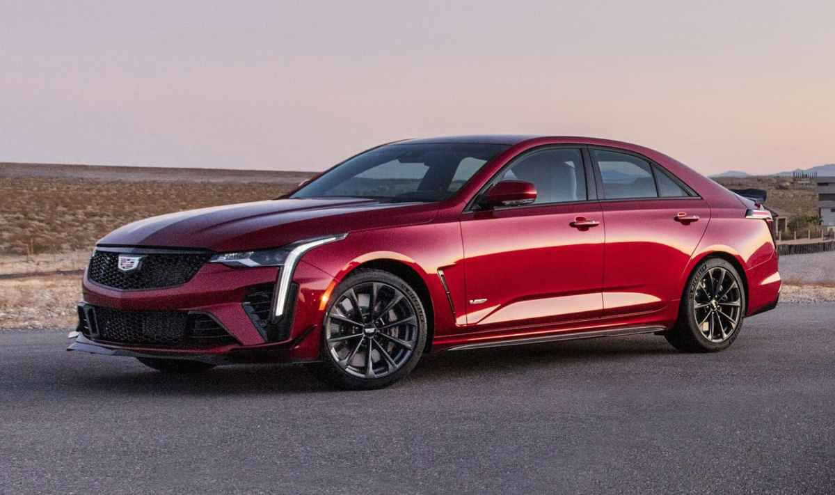 At last! This is the powerful Cadillac CT4-V Blackwing and CT5-V Blackwing 2021