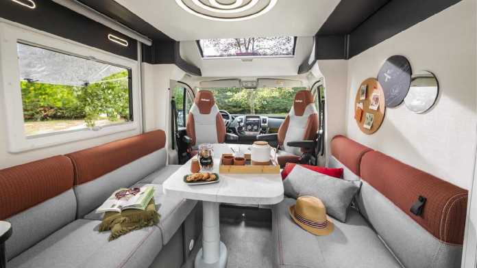 this Ducato camper shows us that less can be more