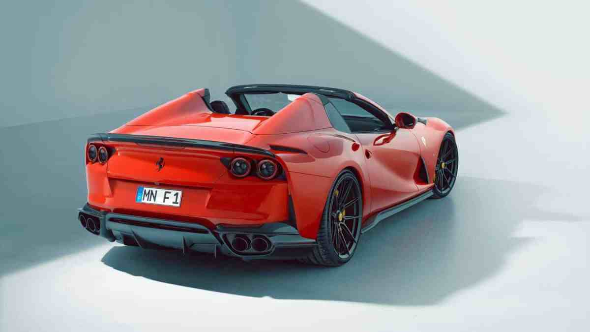 The Ferrari 812 GTS is the latest beast from Novitec and exceeds 850 hp