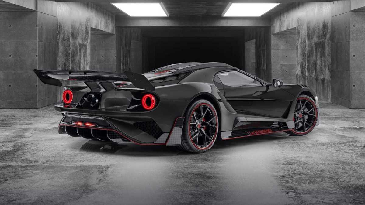 The second installment of the Ford GT 'Le MANSORY' is even more radical and sinister