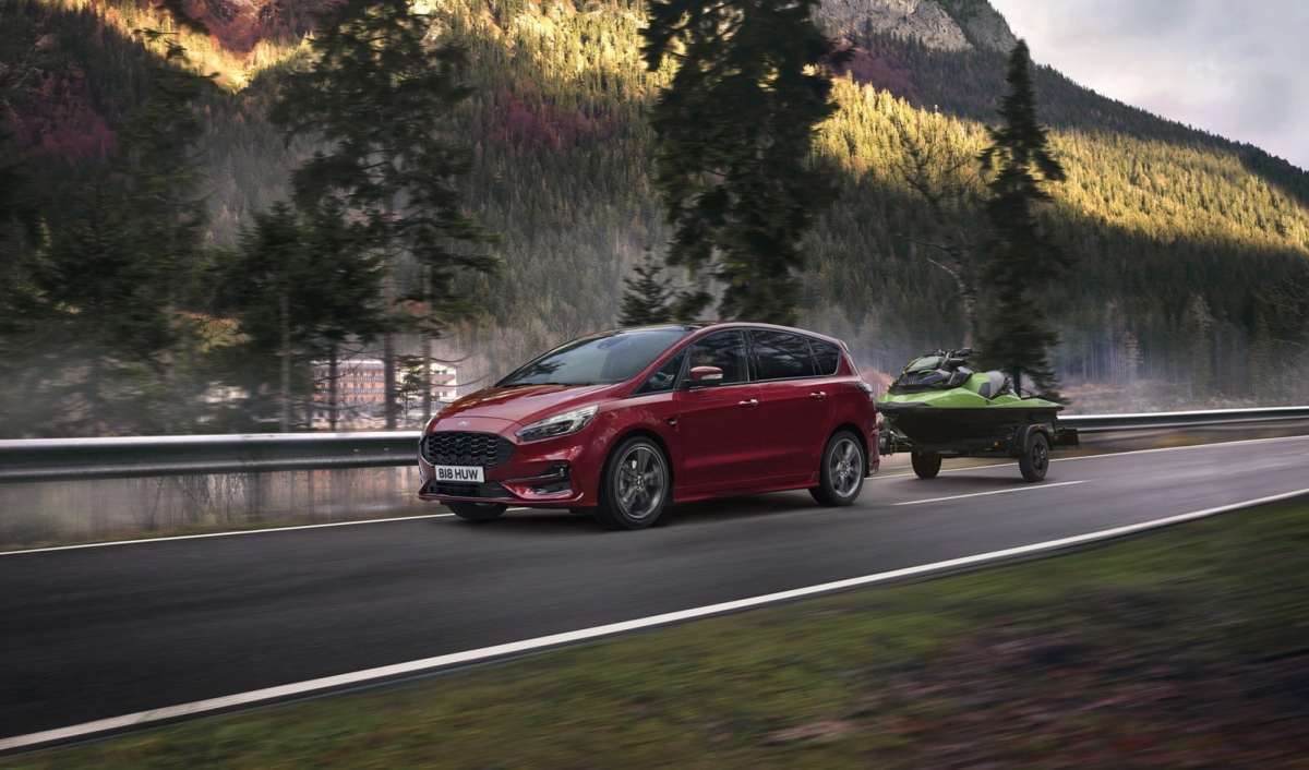 New images of the Ford S-Max and Galaxy hybrids: already available in Spain
