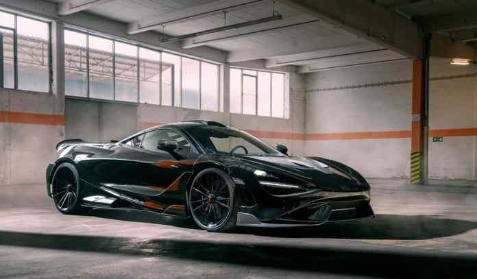 Novitec gets his hands on the McLaren 765LT and the result is scary