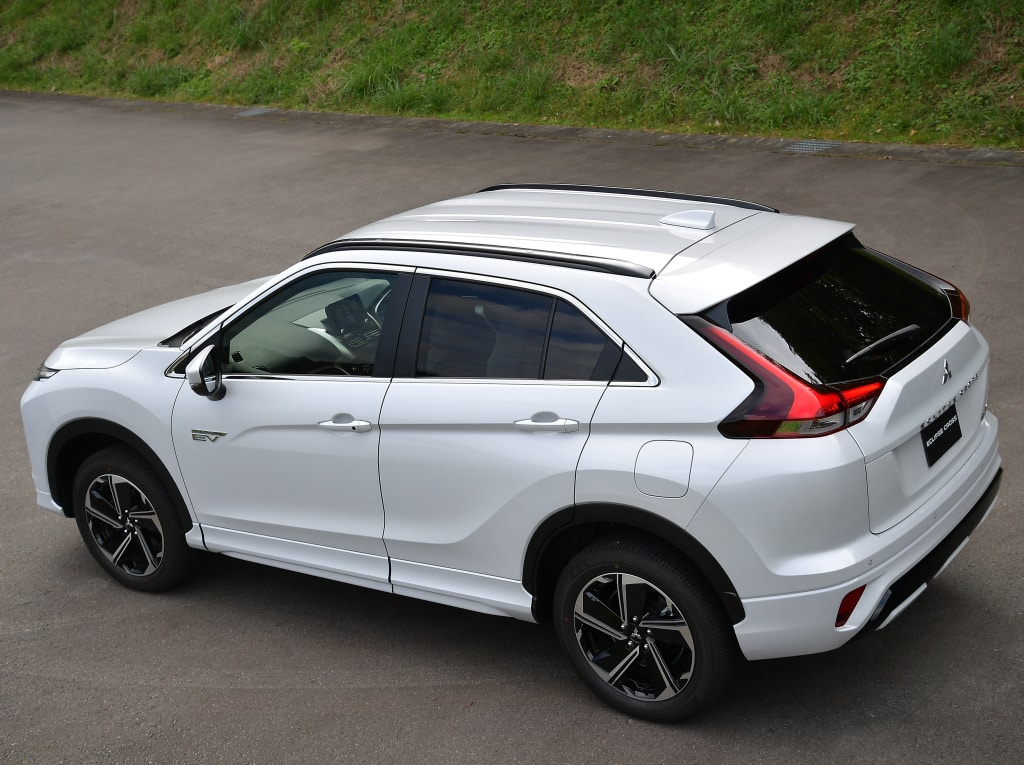 Now on sale the renewed Mitsubishi Eclipse Cross: Only with PHEV engine