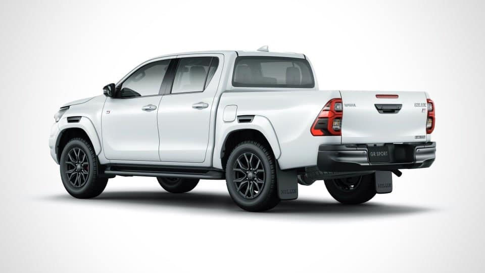 The Toyota Hilux GR Sport has a sportier style