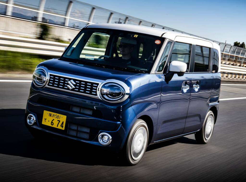 New Suzuki Wagon R «Smile»: A stylish and different kei-car