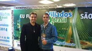 João Barreto Neto e Marcus Lucas