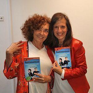 Isabel Roba y María Villarroya ya tienen su GuíaBurros para autónomos