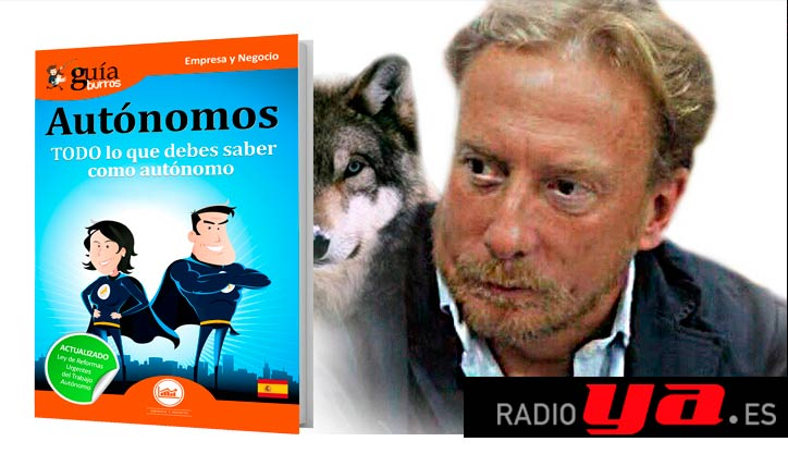 """Borja Pascual presenta el libro en """"La Boca del Lobo"""" de RadioYA"""