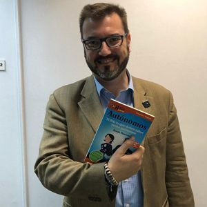 Mariano Llorente ya tiene su GuíaBurros para autónomos