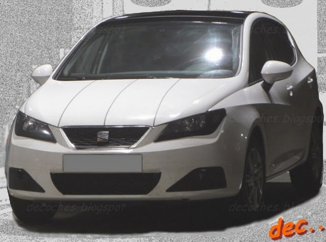 seat ibiza restyling 2012 frontale specifico per la 5 porte. Black Bedroom Furniture Sets. Home Design Ideas