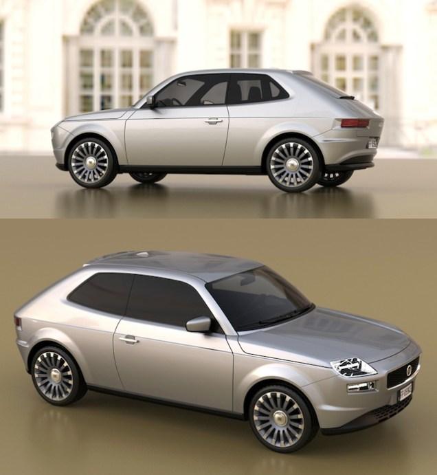 Fiat 127 Concept 2014 01