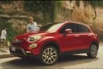 Fiat 500X – Lo spot TV con la pillola… blu