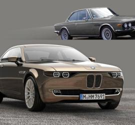 The BMW CS Vintage Concept by David Obendorfer