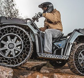 Polaris Sportsman WV850 ATV with Airless Tires