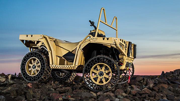 Polaris Sportsman WV850 ATV with Airless Tires