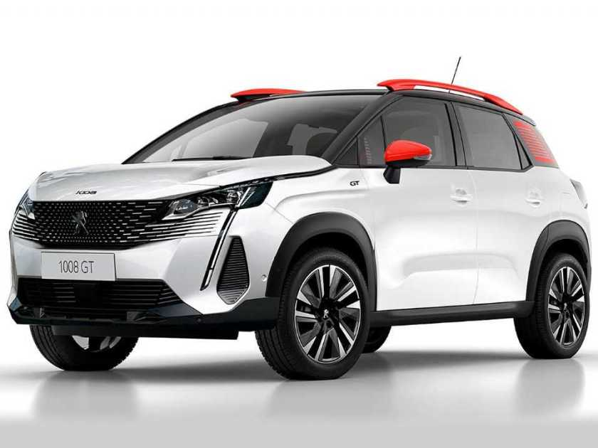 Projection by Kleber Silva for the unpublished Peugeot 1008
