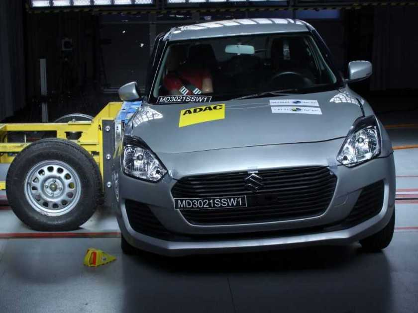 The new generation Suzuki Swift was also rated and failed