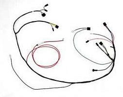 Air Conditioning Wiring Harness w/ Heater Wiring, 1967
