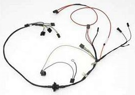 Air Conditioning Wiring Harness w/ Heater Wiring, 1975