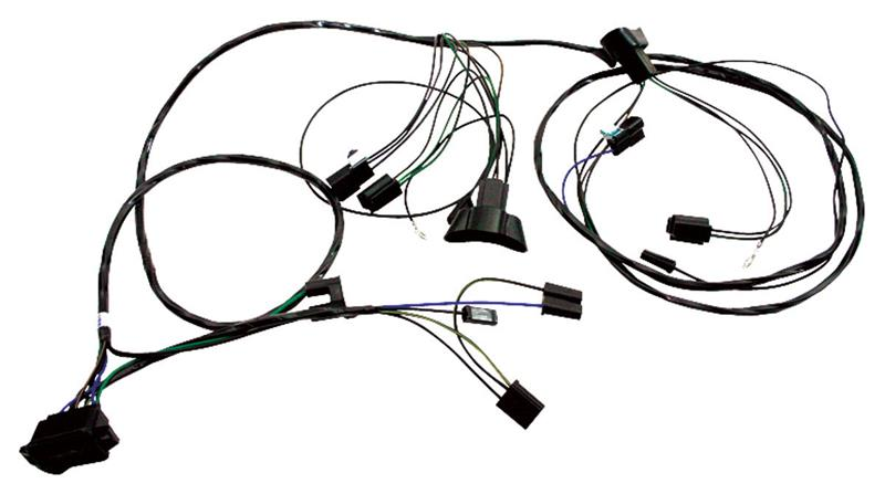 Forward Lamp Wiring Harness, 1965 Pontiac GTO