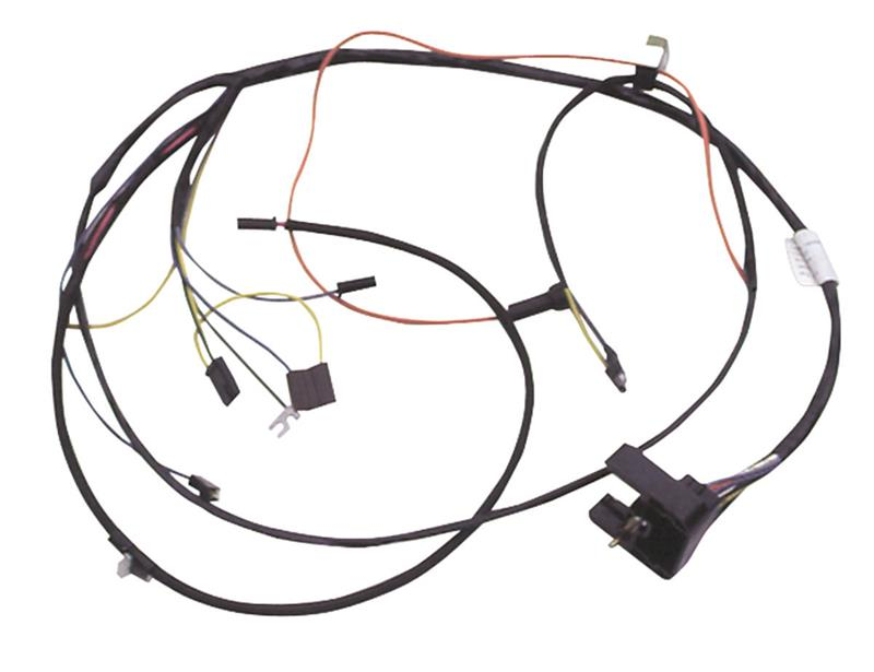 Engine Wiring Harness, 1967 Pontiac GTO