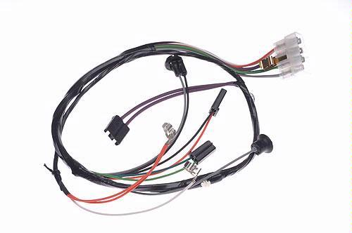 Console Wiring Harness w/ Console Clock Lead, 1965 Chevy