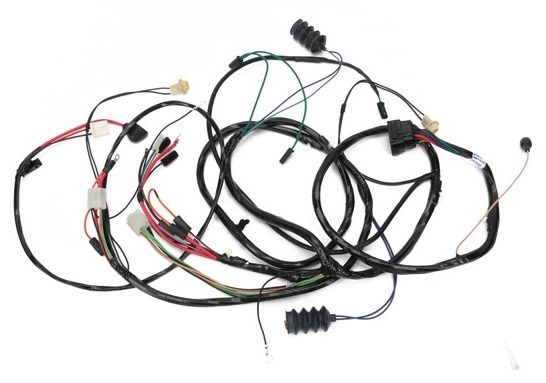 Forward Lamp Wiring Harness, 1968 Pontiac Firebird