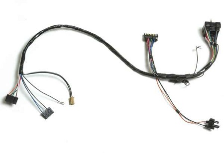 Dash/Instrument Cluster Wiring Harnesses, 1971 Chevrolet