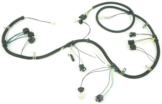 Rear Lamp Wiring Harness for Trunk Rear Panel, 1977-78