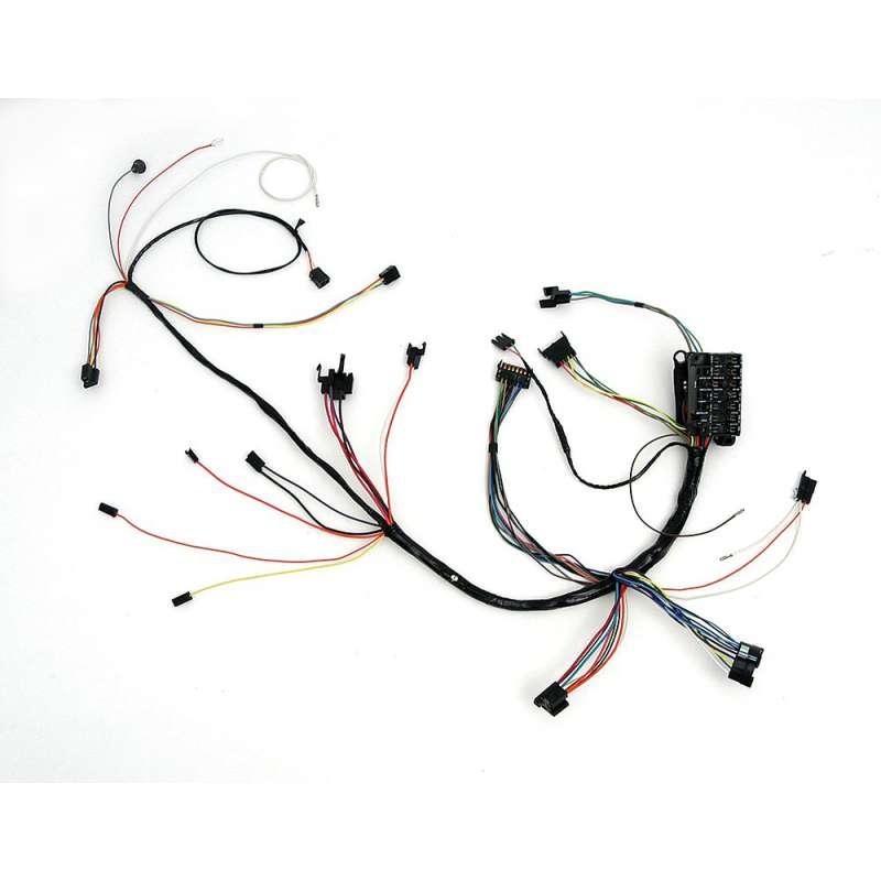 Dash Wiring Harnesses w/ Column Shift, Auto Trans, 1971