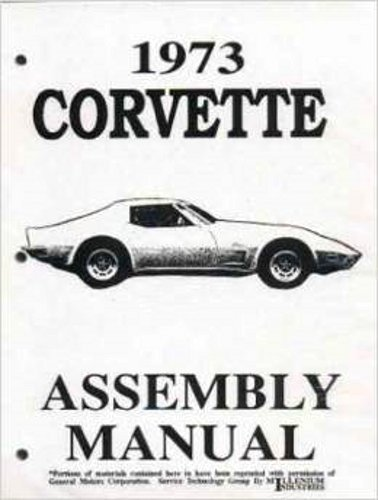 Assembly Manual w/ Factory Instruction Guide, 1973 Chevy