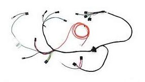 Air Conditioning Wiring Harness w/ Heater Wiring, 1971