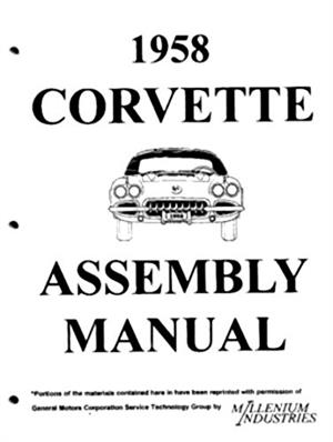 Assembly Manual w/ Factory Instruction Guide, 1958 Chevy