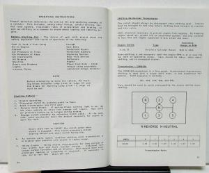 1981 Mack Truck Owners Manual Mid-Liner MS200 Care