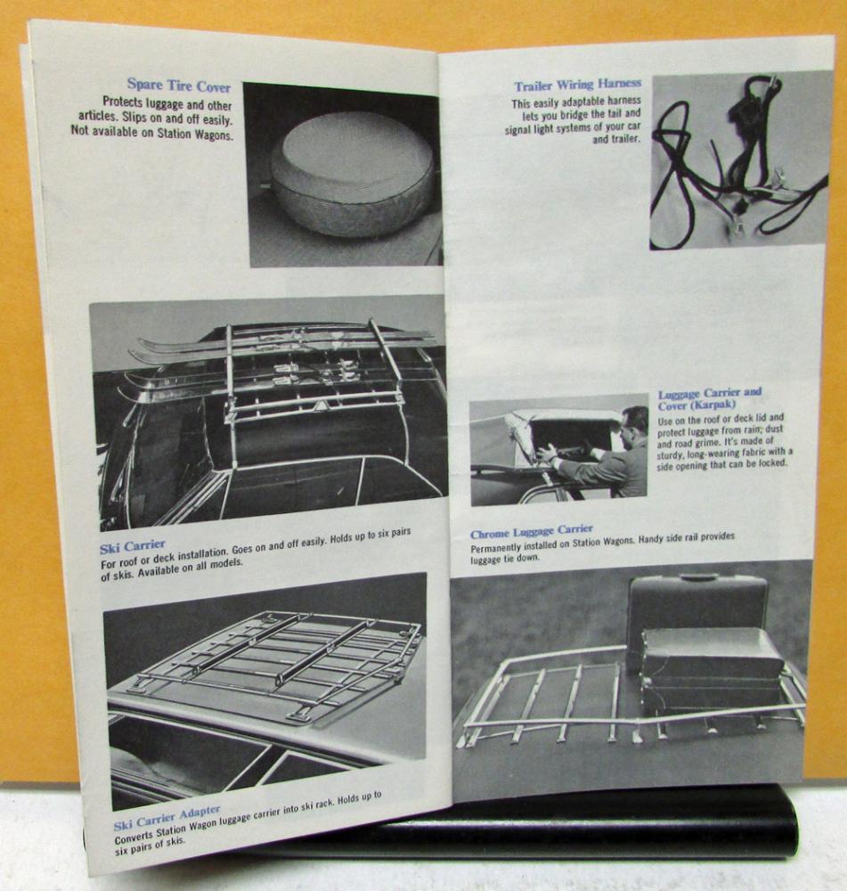 medium resolution of 1967 pontiac accessories brochure owners guide w glovebox set gto lemans gm